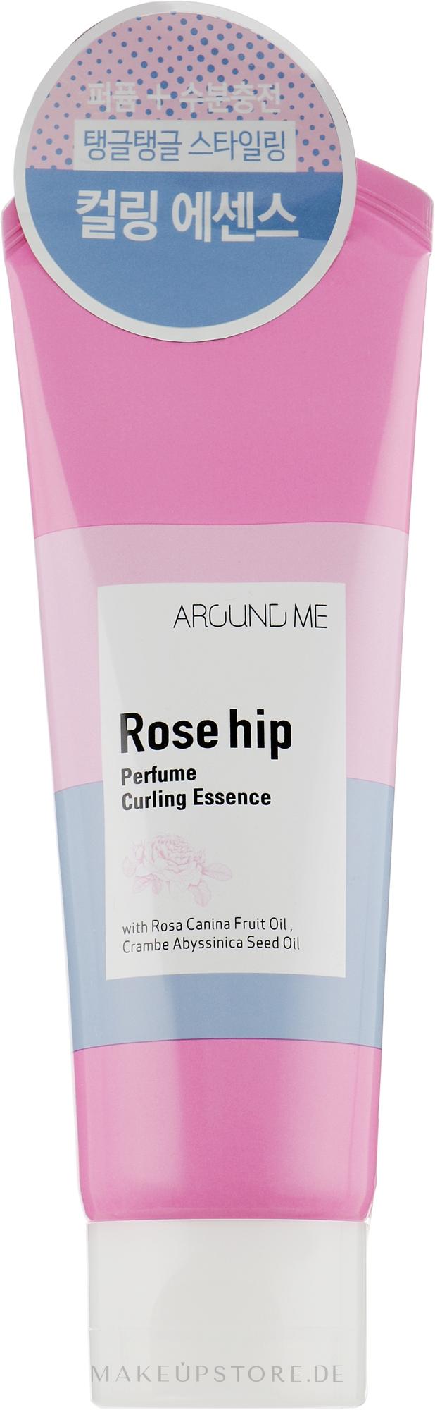 Haaressenz mit Hagebuttenöl für üppige und schöne Locken - Welcos Around Me Rose Hip Perfume Curling Essence — Bild 130 g