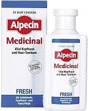 Düfte, Parfümerie und Kosmetik Erfrischendes und belebendes Kopfhaut- und Haartonikum - Alpecin Medical Fresh