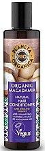 Düfte, Parfümerie und Kosmetik Conditioner für Haarglanz mit Macadamia-Extrakt - Planeta Organica Organic Macadamia Natural Hair Conditioner