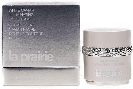 Festigende Creme für eine strahlende Augenpartie - La Prairie White Caviar Illuminating Eye Cream — Bild N3