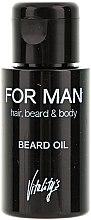 Düfte, Parfümerie und Kosmetik Trockenes Bartöl - Vitality's For Man Beard Oil
