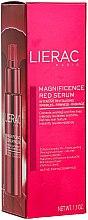 Düfte, Parfümerie und Kosmetik Intensiv regenerierendes und straffendes Anti-Falten Gesichtsserum - Lierac Magnificence Serum Rouge