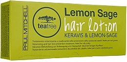 Regenerierende Lotion gegen Haarausfall mit Teebaumextrakt und Zitrone - Paul Mitchell Tea Tree Hair Lotion Keravis and Lemon–Sage — Bild N1