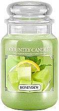 Düfte, Parfümerie und Kosmetik Duftkerze im Glas Honeydew - Country Candle Honeydew