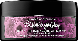 Düfte, Parfümerie und Kosmetik Regenerierende Haarmaske mit Kamillenöl - Bumble and bumble While You Sleep Overnight Damage Repair Masque