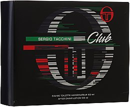 Sergio Tacchini Club - Duftset (Eau de Toilette/100ml + After Shave Lotion/100ml) — Bild N1
