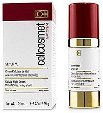 Düfte, Parfümerie und Kosmetik Revitalisierende zellulare Nachtcreme für sensible Haut - Cellcosmet Sensitive Night Cream