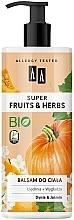 Straffende und glättende Körperlotion mit Kürbis und Jasmin - AA Super Fruits & Herbs — Bild N1