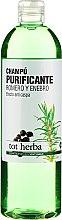 Düfte, Parfümerie und Kosmetik Reinigendes Shampoo gegen Schuppen mit Rosmarin und Wacholder - Tot Herba Rosemary Juniper Purifying Shampoo