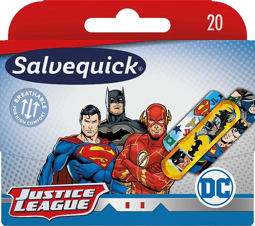 Wasserfeste Kinder-Pflaster Justice League - Salvequick Justice League — Bild N1