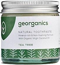 Natürliche Zahnpasta mit Teebaum-Geschmack - Georganics Tea Tree Natural Toothpaste — Bild N4