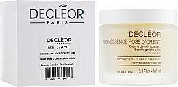 Düfte, Parfümerie und Kosmetik Beruhigender Nachtbalsam für empfindliche Haut mit Rosenöl - Decleor Baume Rose d'Orient