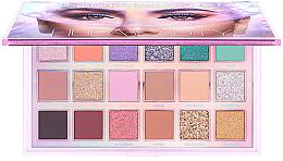 Düfte, Parfümerie und Kosmetik Lidschattenpalette - Huda Beauty Mercury Retrograde Eyeshadow Palette