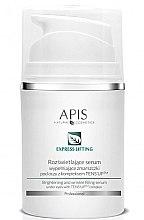 Düfte, Parfümerie und Kosmetik Aufhellendes Serum gegen Augenfältchen - APIS Professional Express Lifting Brightening Filling Wrinkle Serum With Tens UP