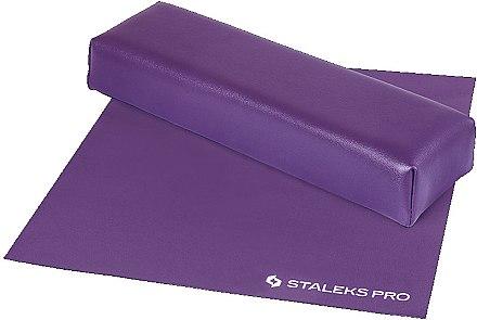Maniküre-Handauflage mit Tuch Mini violett - Staleks Pro Expert 10 Type 3 — Bild N1