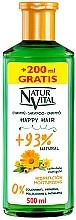 Düfte, Parfümerie und Kosmetik Feuchtigkeitsspendendes hypoallergenes Shampoo mit Ringelblumenextrakt - Natur Vital Happy Hair Moisturising Shampoo