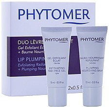 Düfte, Parfümerie und Kosmetik Set - Phytomer Lip Plumping Duo Exfoliating Radiance Gel & Plumping Nourishing Balm (lip/gel/15ml + lip/balm/15ml)
