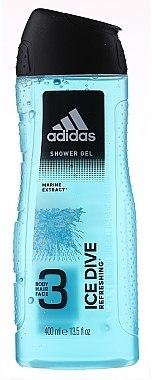 Adidas Ice Dive - Duschgel für Männer — Bild N2