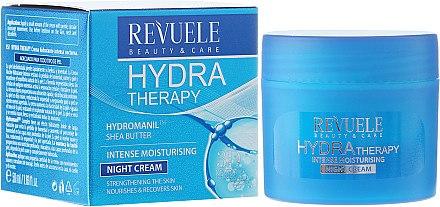 Intensiv feuchtigkeitsspendende Nachtcreme - Revuele Hydra Therapy Intense Moisturising Night Cream — Bild N1