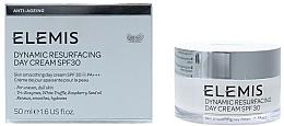 Düfte, Parfümerie und Kosmetik Erneuernde, glättende und feuchtigkeitsspendende Tagescreme mit weißem Trüffel und Himbeersamenöl - Elemis Dynamic Resurfacing Day Cream SPF 30