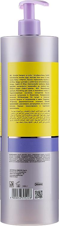 Pflegendes Shampoo - Dikson Keiras Nourishing Shampoo — Bild N4
