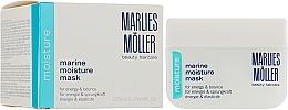 Düfte, Parfümerie und Kosmetik Feuchtigkeitsspendende Gesichtsmaske für Energie und Sprungkraft - Marlies Moller Marine Moisture Mask