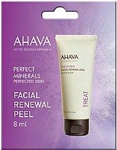 Düfte, Parfümerie und Kosmetik Sanftes erneuerndes Gesichtspeeling mit Wasser aus dem Toten Meer und Vitamin C - Ahava Time to Treat Facial Renewal Peel