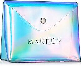 Düfte, Parfümerie und Kosmetik Kosmetiktasche Holographic transparent 16x13x6 cm - MakeUp