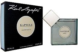 Düfte, Parfümerie und Kosmetik Karl Lagerfeld Kapsule Light - Eau de Toilette