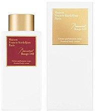Düfte, Parfümerie und Kosmetik Maison Francis Kurkdjian Baccarat Rouge 540 - Körpercreme