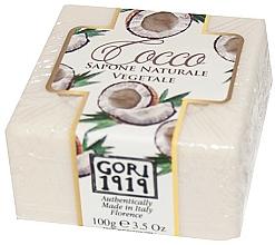 Düfte, Parfümerie und Kosmetik Seife Kokosnuss - Gori 1919 Coconut Natural Vegetable Soap