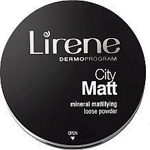 Düfte, Parfümerie und Kosmetik Mattierender loser Mineralpuder - Lirene City Matt Mineral Mattifying Loose Powder