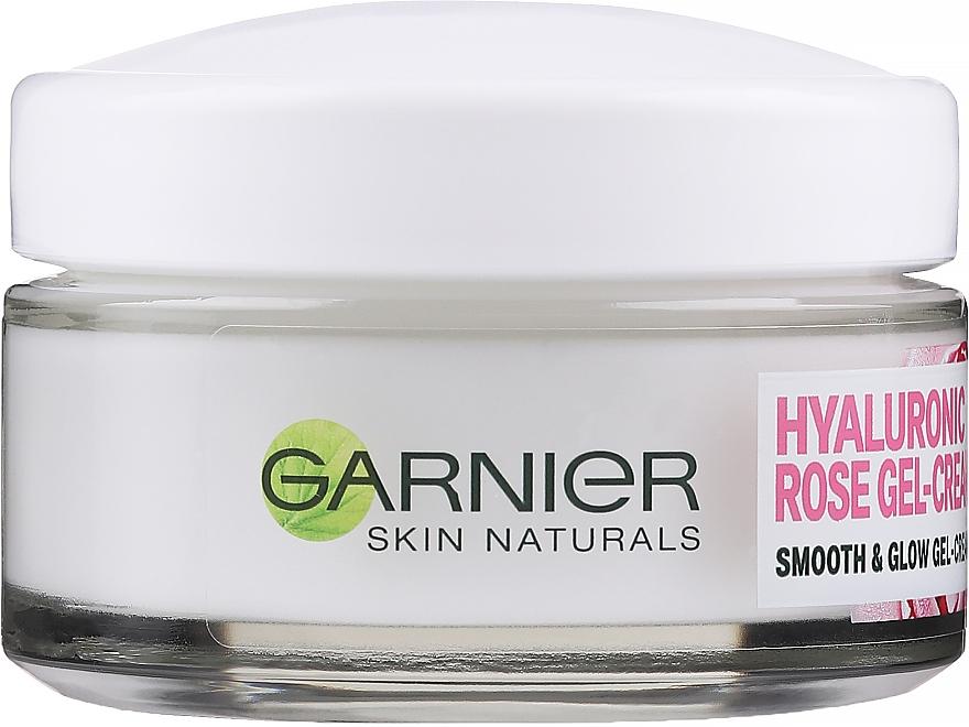 Gesichtscreme-Gel für empfindliche Haut - Garnier Skin Naturals Hyaluronic Rose Gel Cream — Bild N1