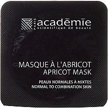 Gesichtsmaske mit Aprikosenextrakt - Academie Instant Radiance Apriot Mask — Bild N2