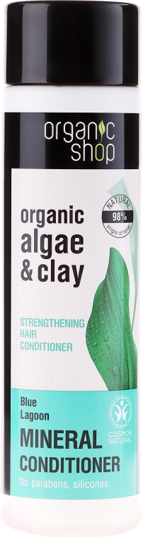 Stärkender Conditioner mit Algen & Tonerde - Organic Shop Organic Algae and Pearl Mineral Conditioner — Bild N1