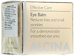 Düfte, Parfümerie und Kosmetik Anti-Falten Augenbalsam - Alcina E Eye Balm
