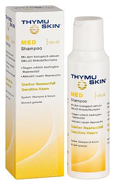 Shampoo gegen Haarausfall für trockenes und empfindliches Haar - Thymuskin Med Shampoo — Bild N1