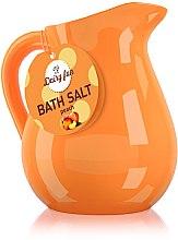 Düfte, Parfümerie und Kosmetik Badesalz mit Pfirsich - Delia Dairy Fun Bath Salt
