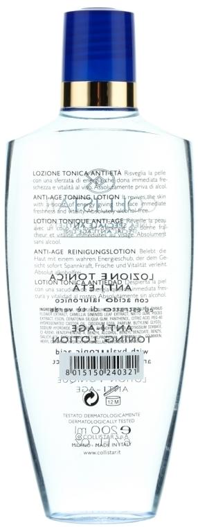 Erfrischendes Anti-Aging Gesichtstonikum mit grünem Tee und Hyaluronsäure - Collistar Anti-Age Toning Lotion — Bild N4