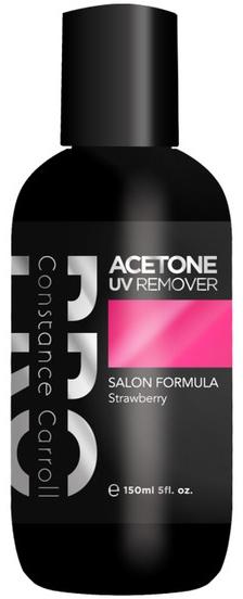 Nagellackentferner mit Erdbeerduft - Constance Carroll Aceton UV Remover Strawberry — Bild N1