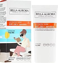 Düfte, Parfümerie und Kosmetik Sonnenschutz-Gesichtscreme für sensible Haut SPF 100 - Bella Aurora Solar Protector Sensible SPF100+