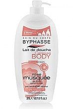 Düfte, Parfümerie und Kosmetik Duschcreme mit Hagebutte aus Chile - Byphasse Caresse Shower Cream