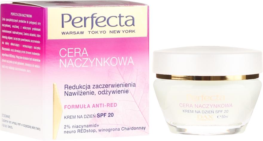 Tagescreme gegen Rötungen mit LSF 20 - Perfecta Cera Naczynkowa SPF 20 Cream — Bild N1