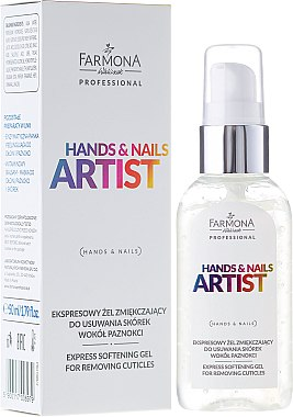 Nagelhautentferner - Farmona Professional Hands and Nails Artist Express Softening Gel For Removing Cuticles — Bild N2