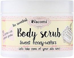 Düfte, Parfümerie und Kosmetik Straffendes Körperpeeling mit Honigwaffeln-Duft - Nacomi Body Scrub Sweet Honey Wafers