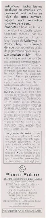 Anti-Aging Autobronzante für das Gesicht gegen Pigmentflecken mit SPF 30 - Avene Eau Thermale D-Pigment Dark Spot Lightener — Bild N3