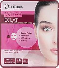 Düfte, Parfümerie und Kosmetik Intensive regenerierende und feuchtigkeitsspendende Baumwolle Gesichtsmaske - Qiriness Eclat Radiance Booster Mask