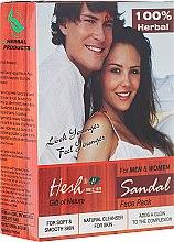 Düfte, Parfümerie und Kosmetik Pulvermaske für das Gesicht mit Sandelholz-Extrakt - Hesh Sandal Face Pack