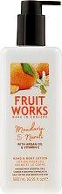 Düfte, Parfümerie und Kosmetik Hand- und Körperlotion mit Mandarine und Neroli - Grace Cole Fruit Works Hand & Body Lotion Mandarin & Neroli