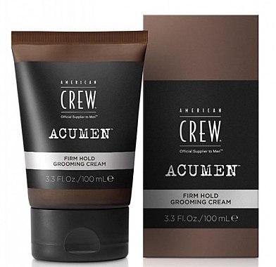 Pflegende Haarcreme für festen Halt - American Crew Acumen Firm Hold Grooming Cream — Bild N1
